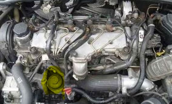 How To Change Engine Oil Volvo D5 2 4d D3 D4 Diesel Engines
