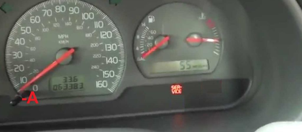 How To Service Light Reset in Volvo S40 and V40