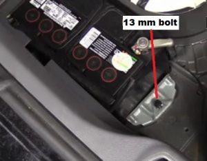 Volvo S60 S80 V70 Xc90 Battery Removal