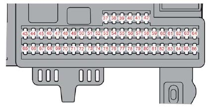 pg152 volvo s40 v50 (2004 to 2013) fuses list and amperage 2004 volvo s40 fuse box diagram at panicattacktreatment.co