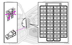 volvo s80 1998 to 2006 fuses list and amperage rh volvohowto com Volvo S80 Light Fuses 2007 Volvo S40 Fuse Box Location
