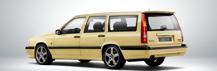 The Volvo 850 celebrates its 25th birthday.