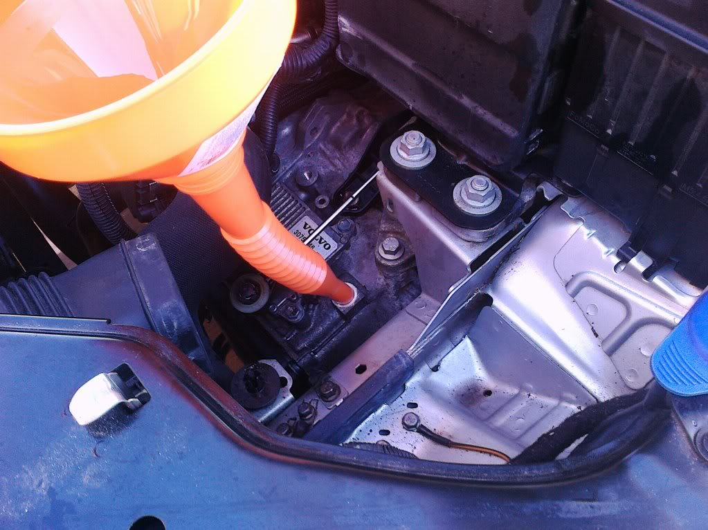how to change the automatic transmission oil on volvo s80  pcv system repair on a volvo 5 cylinder