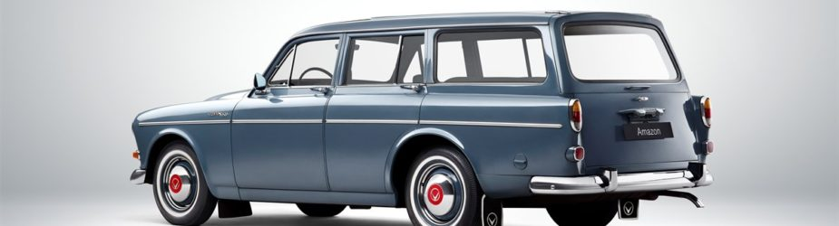 Volvo Amazon – a female warrior turns 60