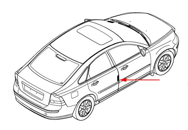 Volvo Rear Door Vin Plate Location on Volvo Xc90 Serpentine Belt Diagram