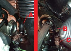 replace volvo 850 s70 v70 heater core hoses