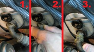 replace volvo 850 s70 v70 heater core hoses_2
