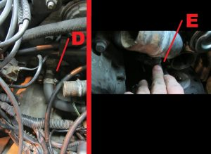 replace volvo 850 s70 v70 heater core hoses_3