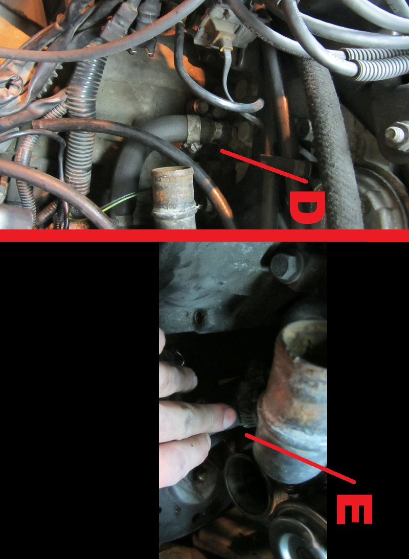 Volvo 850 S70 V70 C70 How To Replace Heater Core Hoses 2006 S40 Engine Diagram 3