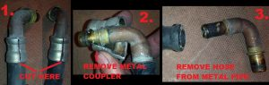 replace volvo 850 s70 v70 heater core hoses_STEP5