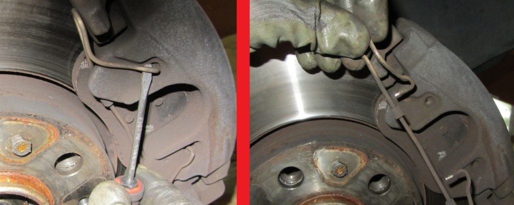 Volvo-S60-S80-V70-XC-How-to-replace-front-brake-pads-3