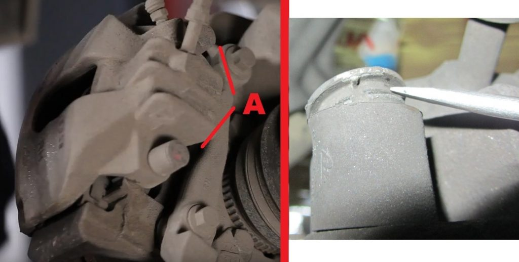 Volvo-S60-S80-V70-XC-How-to-replace-front-brake-pads-4