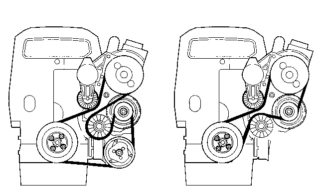 serpentine belt diagram for 98 volvo v70