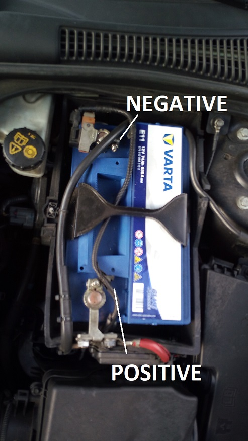 How To Replace Battery Volvo S40 V50 C30