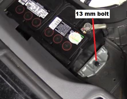 volvo s60 s80 v70 xc90 battery removal