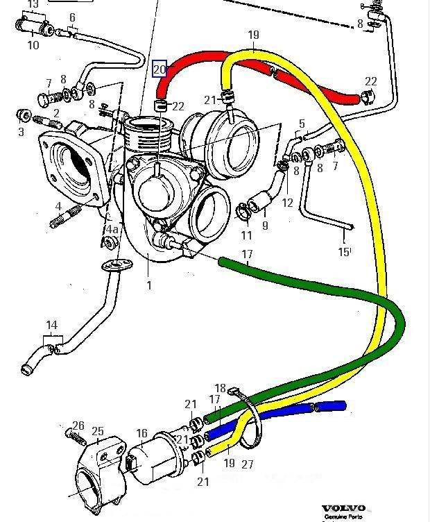 Car Vacuum Hose Diagram
